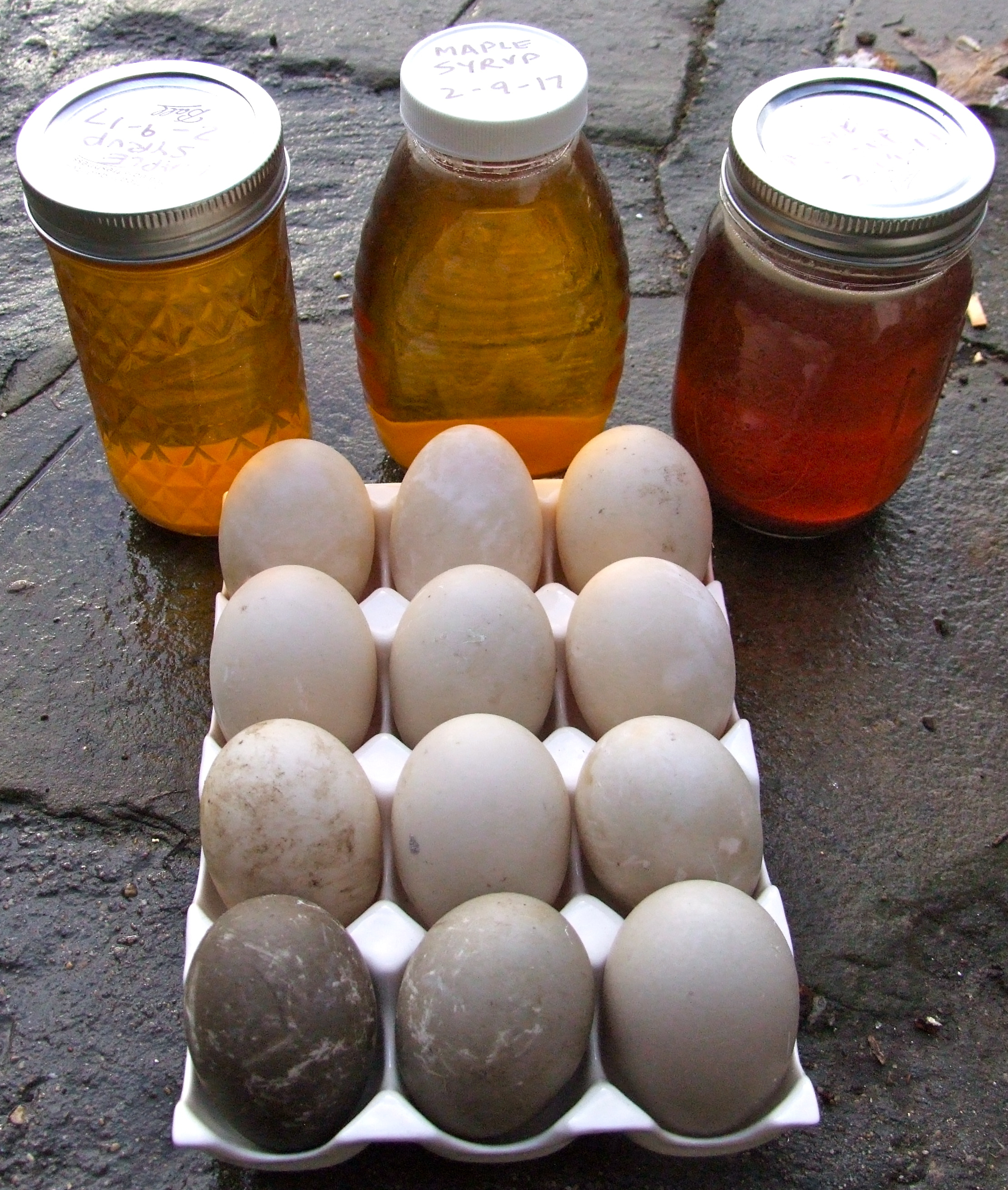 duck-eggs-n-syrup